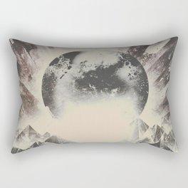 New day new mountains to climb Rectangular Pillow