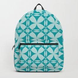 Abtsract Circles - Ocean Pattern Backpack