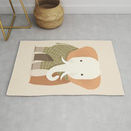 Whimsical Elephant Rug