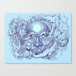 Other Face Canvas Print