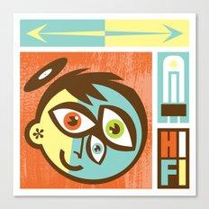 Hi Fi Canvas Print