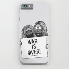 War is over Pugs iPhone 6 Slim Case