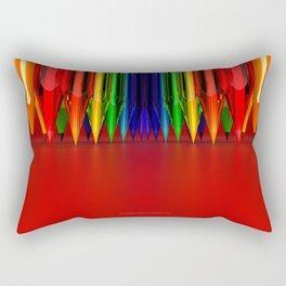 Art Addict by THE-LEMON-WATCH Rectangular Pillow