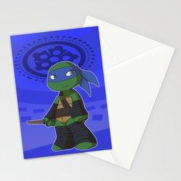 TMNT Chibi Leo Stationery Cards
