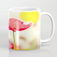 imagine Mugs featuring Imagine by Laura Ruth