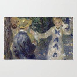 """Auguste Renoir """"The Swing"""" Rug"""