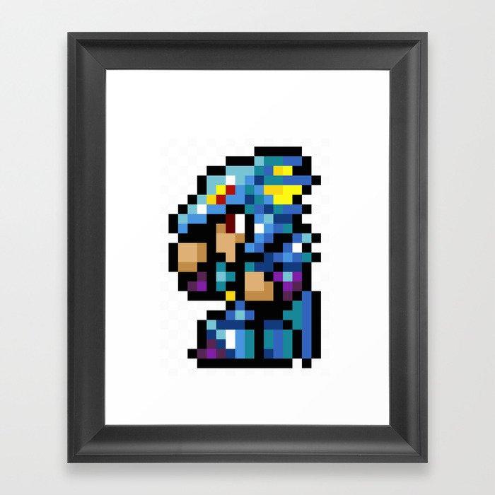 Final Fantasy II - Kain Framed Art Print