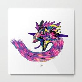 Quetzalcóatl Metal Print