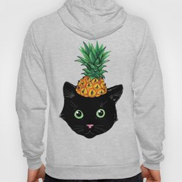 Pineapple Kitty Hoody