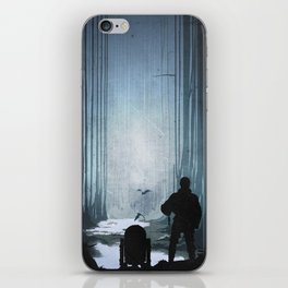 The Empire Strikes Back (1980) Movie Poster iPhone Skin