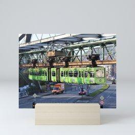Wuppertaler Schwebebahn 2016 - Wuppertaler Zoo Mini Art Print