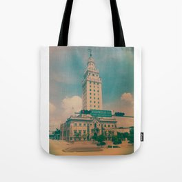 Freedom Tower Miami Tote Bag