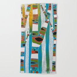 Candyland Beach Towel