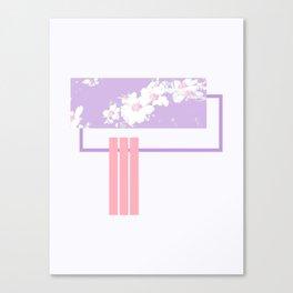 Violet Spring #society6 #spring Canvas Print