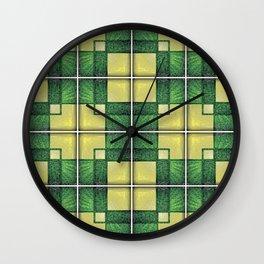 Vintage Tiles #1 Wall Clock