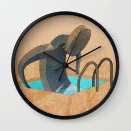 Personal Pool Wall Clock