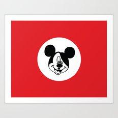 Genosse Mouse Art Print