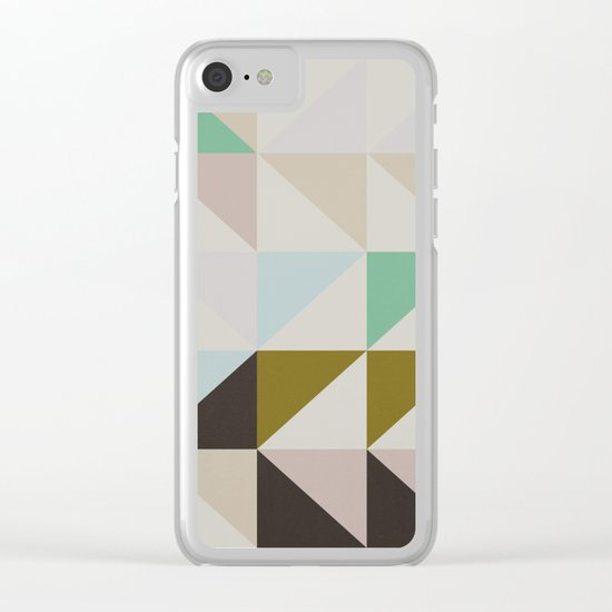 The Nordic Way II Clear iPhone Case