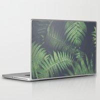 fern Laptop & iPad Skins featuring fern by elle moss