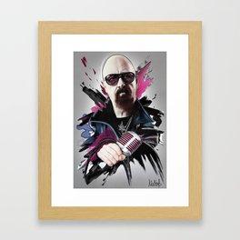 Rob Halford Framed Art Print