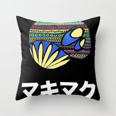 Ethno Mucky Muck Throw Pillow