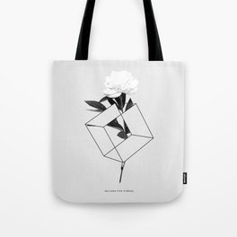 Seja Como Flor Tote Bag