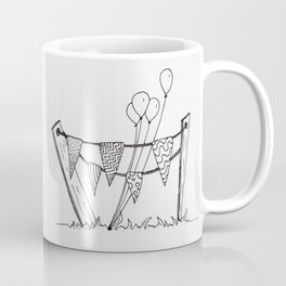Quirky Celebratory Decorations Coffee Mug