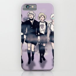 Golden Craft Girls iPhone Case