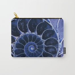 Blue fossil Carry-All Pouch