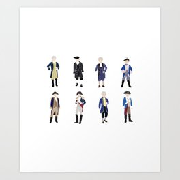 National Confederacy Heroes Day Art Print