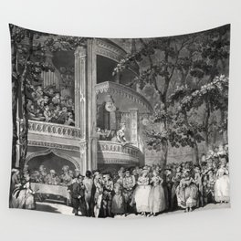 Vauxhall Gardens 1785 Wall Tapestry
