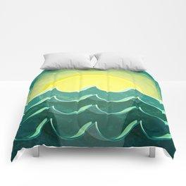Sun and sea Comforters