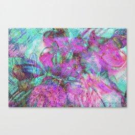 Tye-Dye Abstract Canvas Print