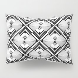 iDeal - B&W Psychedelic Pillow Sham