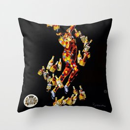Vintage 1920's Leonetto Cappiello  IsolaBella Lithograph Advertising Wall Art Style 1 Throw Pillow