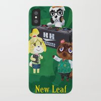 animal crossing iPhone & iPod Cases featuring Animal Crossing: New Leaf by Salzburn Designs Shop