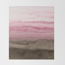 WITHIN THE TIDES STRAWBERRY CAPPUCCINO Throw Blanket