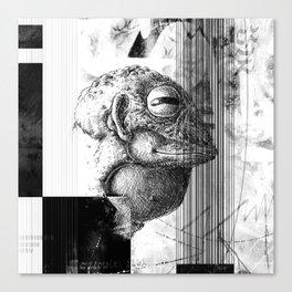 Żaboludź - ZONA Canvas Print