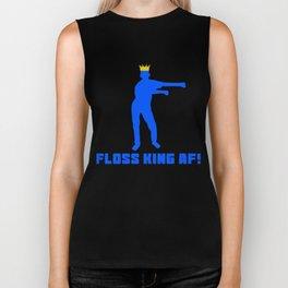 Floss Like A Boss Dance Flossing Dance Shirt Gift Idea Floss king af Biker Tank