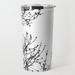 Zebra Branches Travel Mug