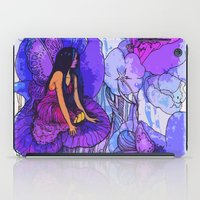fairies iPad Cases featuring flower fairies by Charlie L'amour