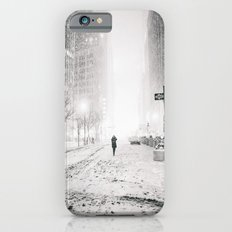 New York City Snow in Times Square iPhone 6s Slim Case