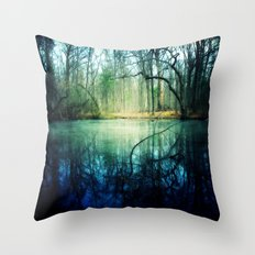 Enchantment of Everaft Throw Pillow