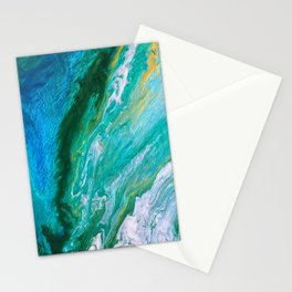 Into the wild green yonder Stationery Cards