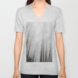 into the woods I go to find my soul Unisex V-Neck