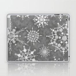 Winter Snowflakes Laptop & iPad Skin