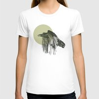 raven T-shirts featuring raven by morgan kendall
