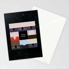 It's been a long road - square - Star Trek: Enterprise ENT - startrek Trektangle minimalist  Stationery Cards