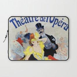 1897 Masquerade ball Paris Opera Laptop Sleeve