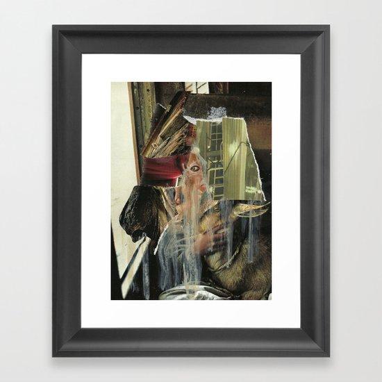 Membrane Framed Art Print